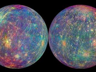 Mercurio: su tránsito por el Sol y retrogradación