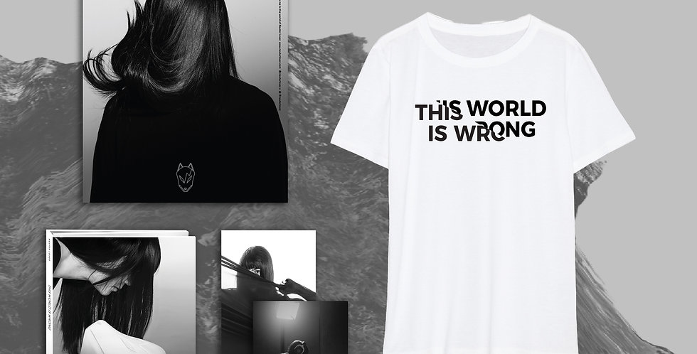 CD + Poster + Photos + This World Is Wrong Tee + Exclusive Key
