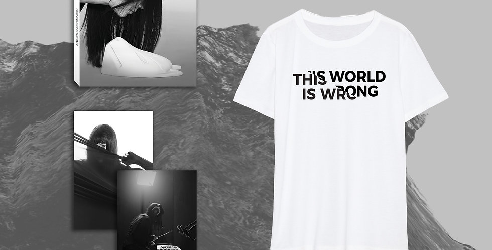CD + Photos + This World Is Wrong Tee + Exclusive Key