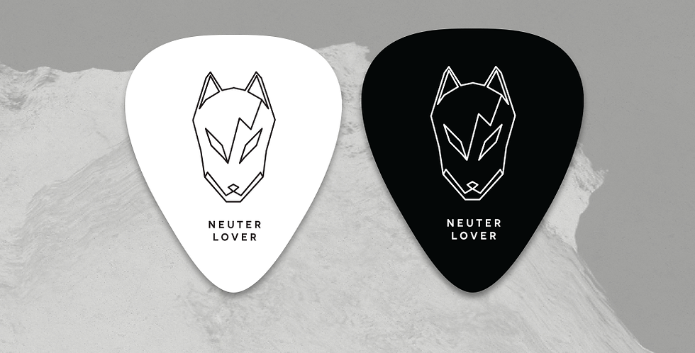 Neuter Lover Custom Guitar Picks Set