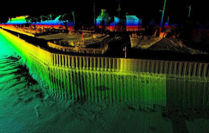 Multi-beam sonar data