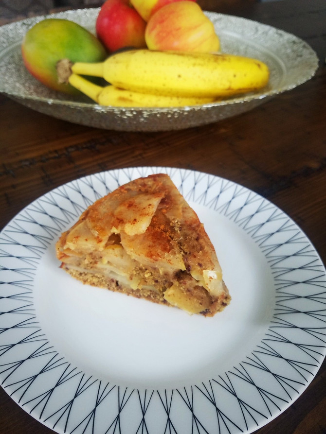 My Favorite Vegan Apple Cake