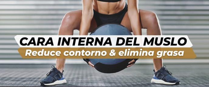 CARA INTERNA DEL MUSLO | Reduce contorno y elimina grasa