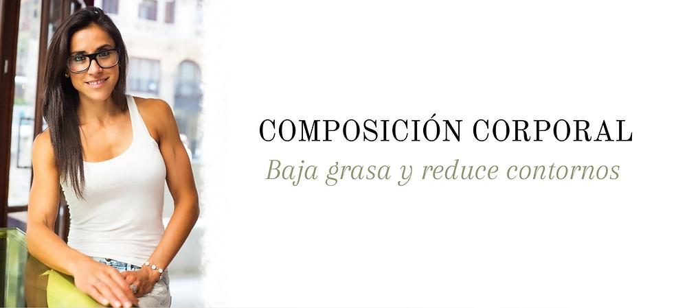 composición corporal baja grasa reduce contornos