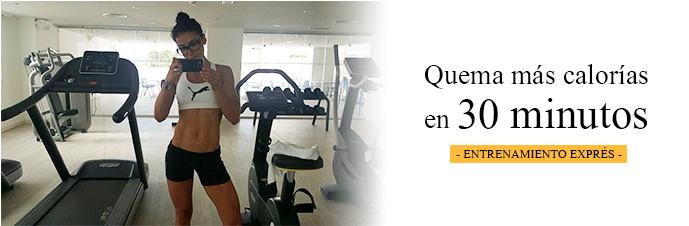 30 minutos quema más calorías Amaya Fitness