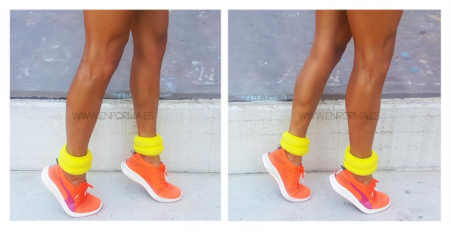 ejercicio gemelo caminar puntillas