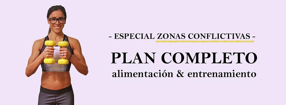 zonas conflictivas plan completo alimentación y entrenamiento