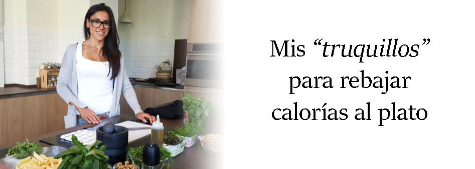 rebajar calorías al plato