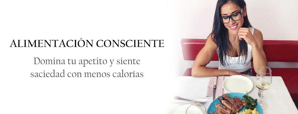 domina el apetito y siente saciedad con menos calorías