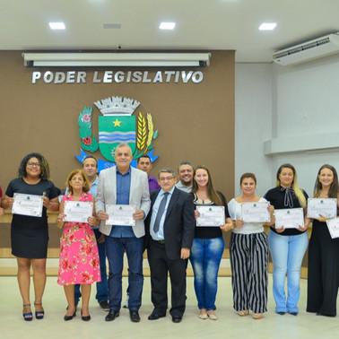 Equipe da Amazônia Seguros recebe Moção de Aplauso