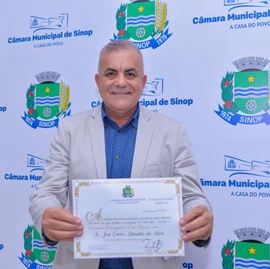 Empresário José Ramalho ganha título de comendador em Sinop
