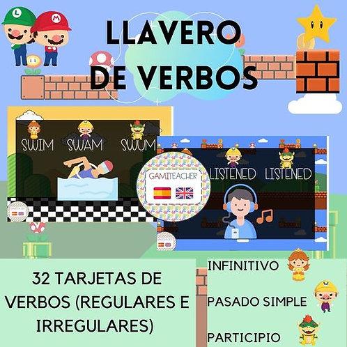 LLAVERO DE VERBOS (MARIO BROS)