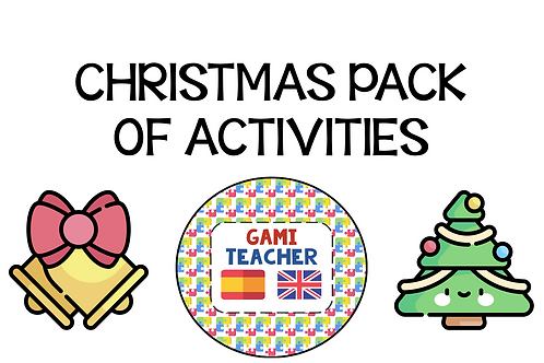 Christmas pack of activities