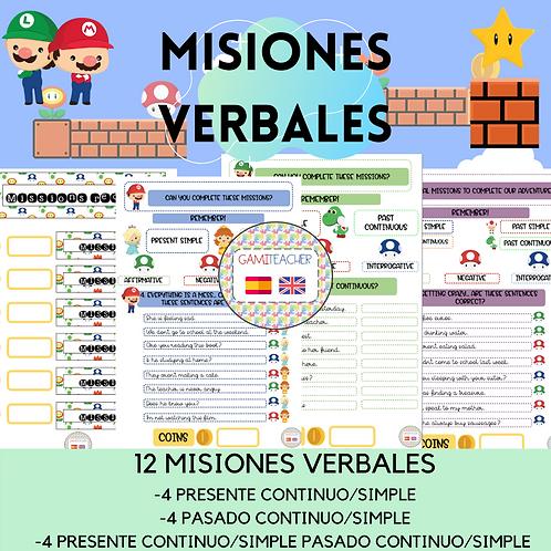 MISIONES VERBALES (MARIO BROS)