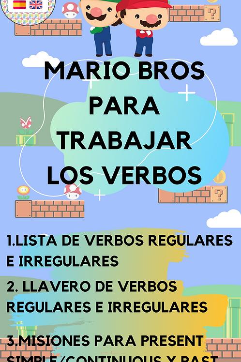 PACK DE VERBOS(MARIO BROS)