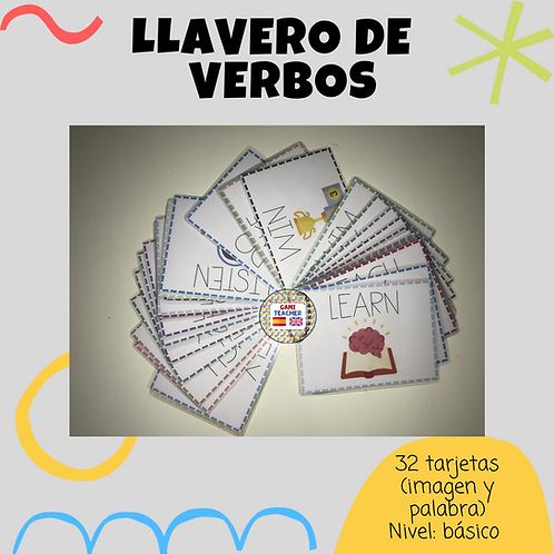 LLAVERO DE VERBOS