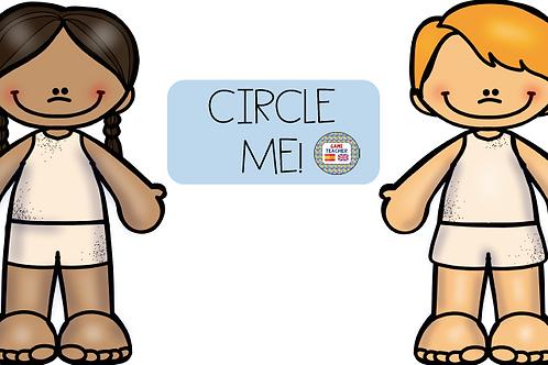 Circle me (worksheet)