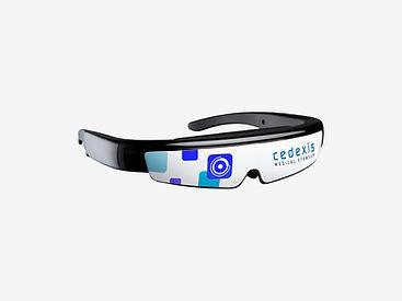 Medische bril die wij ontwikkeld hebben voor Cedexis.