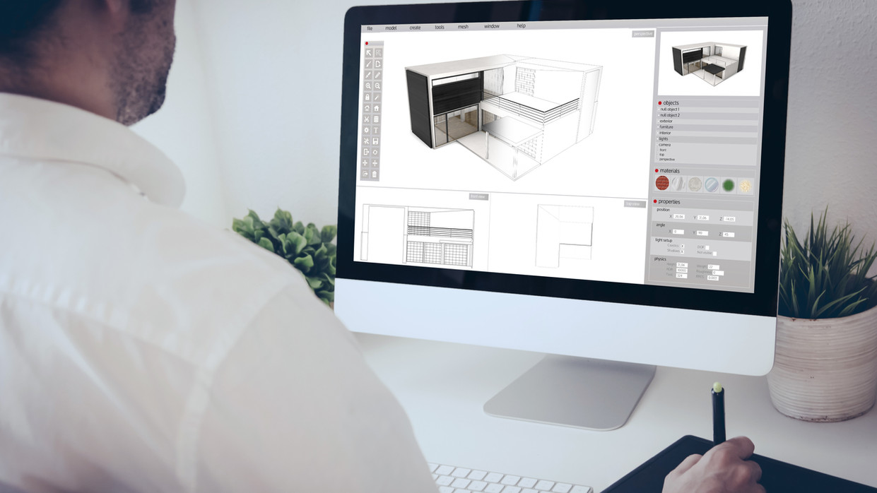 We use the latest software to design your home