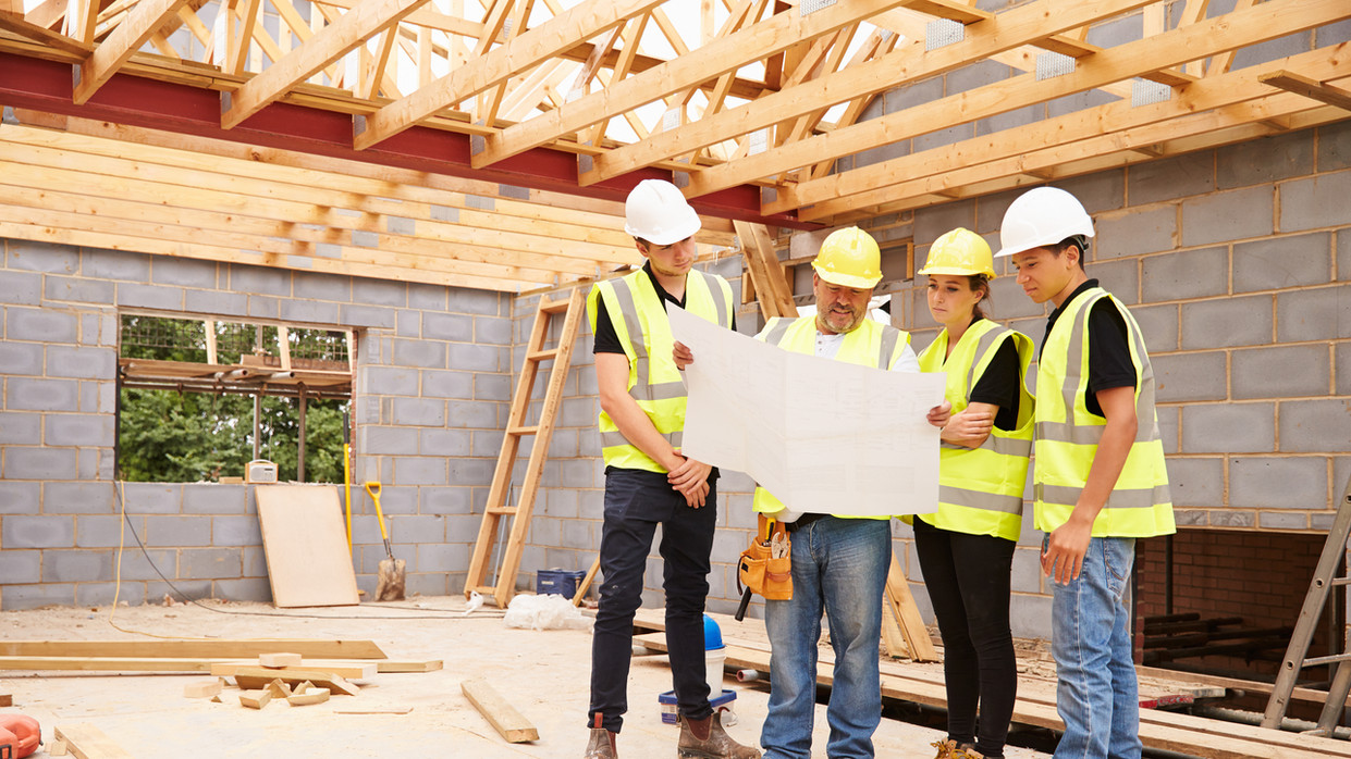 Working with building contractors
