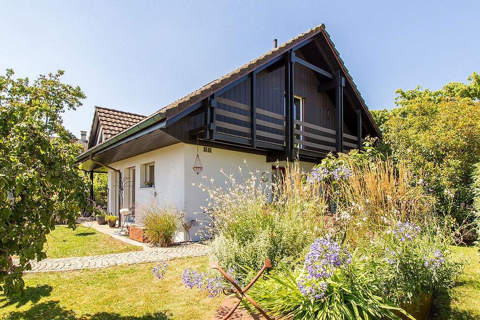 Einfamilienhaus Romanshorn Garten