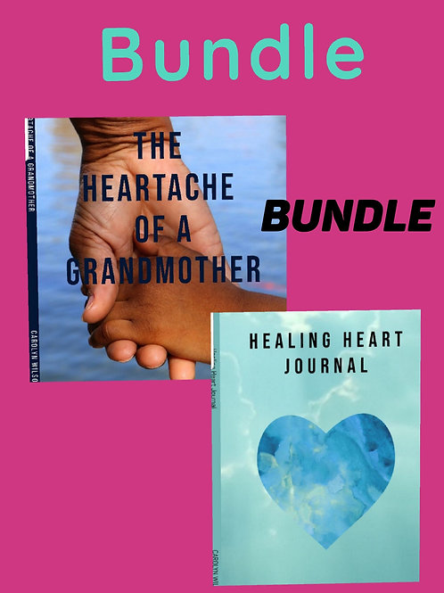 "(Bundle) ""The Heartache Of A Grandmother  and "" Healing Heart Journal """