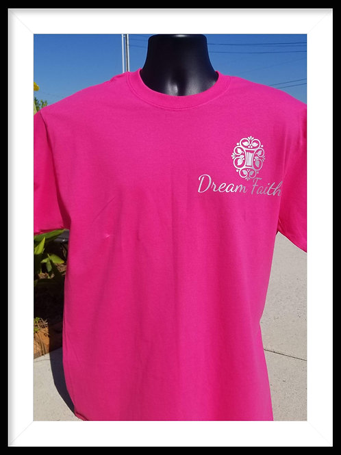 Youth T-Shirts ( Logo across L. shoulder) Pink, Black, Green, Red, yellow Blue