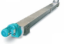 Horizontal and vertical screw conveyors, manufactured in 304L stainless steel with polyurethane replaceable wear sleeves. These versatile conveyors can be manufactured in any length and with angles of inclination up to 35 Deg.  The ideal solution to conveying dry sludge