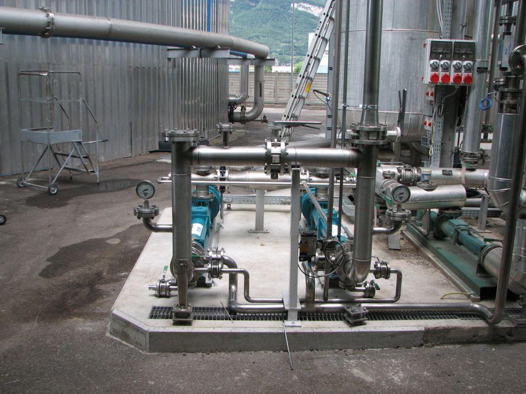 Progressing Cavity Pumps on site