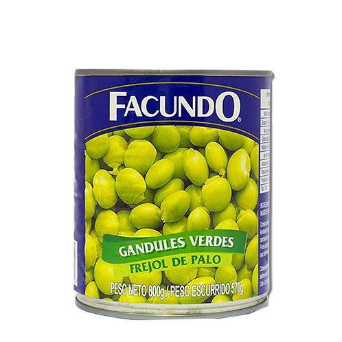 Gandules verdes Facundo