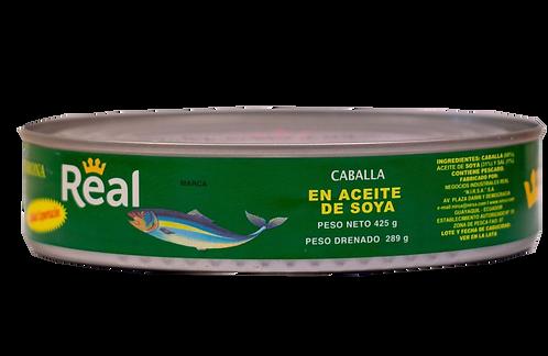 Caballa en aceite de soja Corona Real