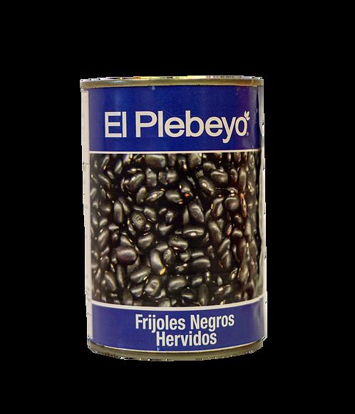 Frijoles negros El Plebeyo