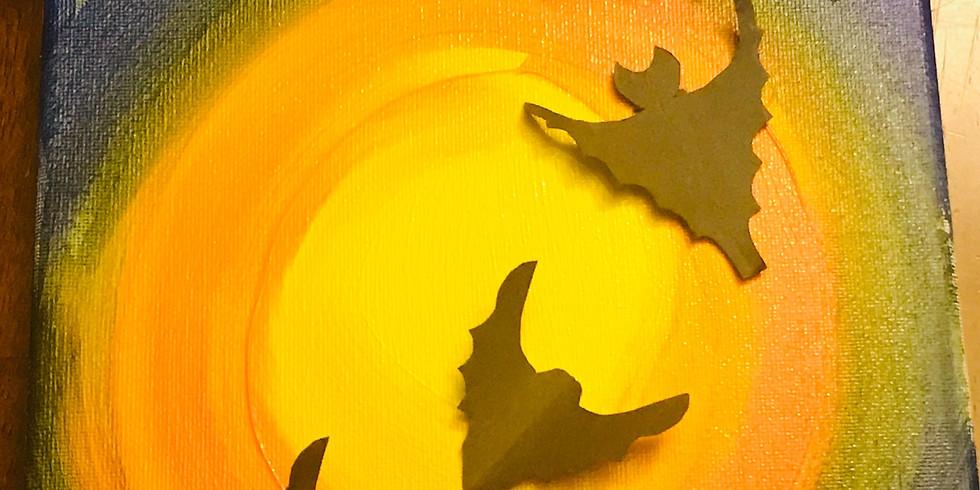 Halloween Keiki Painting