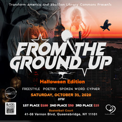 From The Ground Up Halloween Flier