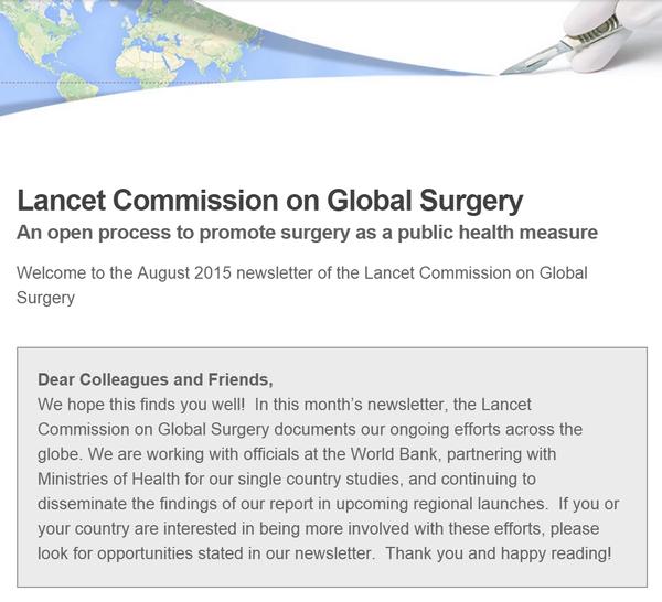 Newsletter- August 2015