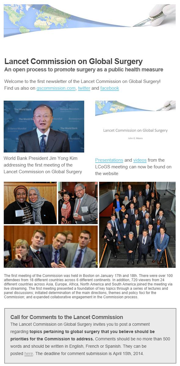Newsletter- February 2014
