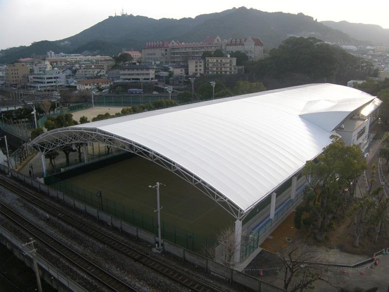 テニスコート新築工事