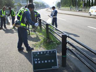 小榊地区アダプト活動実施 平成29年7月29日