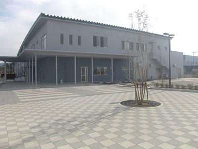 新西工場余熱利用施設新築主体工事
