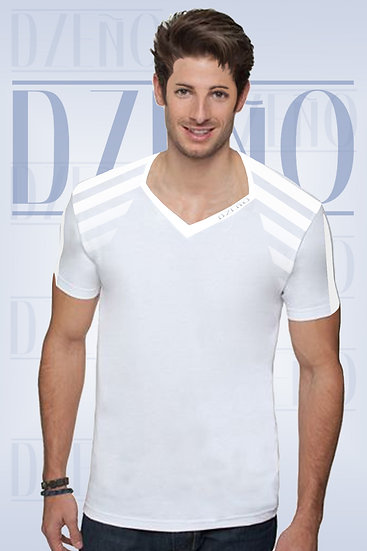 SPORT T WITH SHOULDER STRIPS VENTED SLEEVES