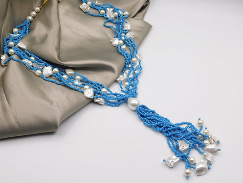 Pearl String with Tassels