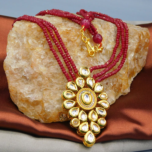 Pendant in Red String