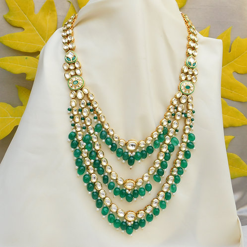 Kundan Necklace Long Set