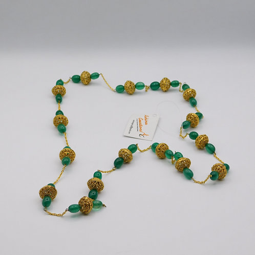 Green Gold Antique String