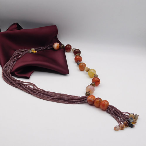 String with tassels