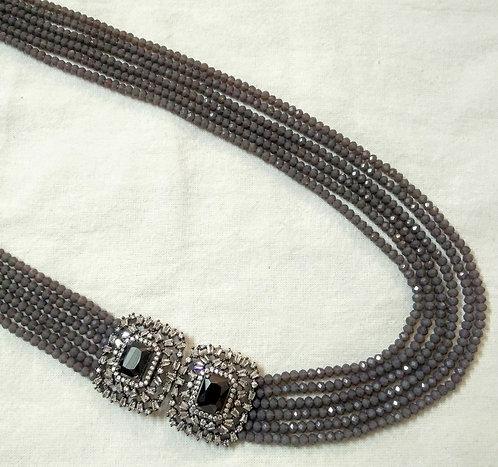 Side Design Grey String