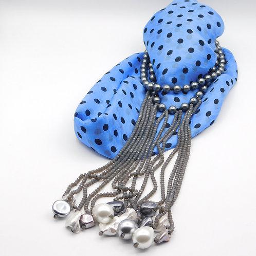 Grey Collar String