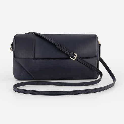 B2-long bag-sleeve black-gold_Voorkant_1
