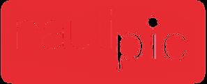 nautipic logo rouge sticker.tif