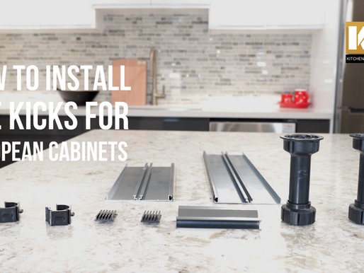 VIDEO: How to Install Toe Kicks for European Cabinets